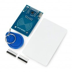 RFID MF RC522 modul 13,56MHz SPI + karta a klíčenka