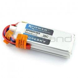 LiPol Dualsky 800mAh 20C 3S 11,1V