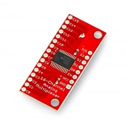 Modul s analogově-digitálním multiplexorem 74HC4067 - SparkFun