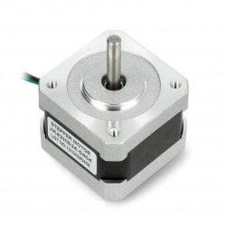 Krokový motor JK42HS34-0404 200 kroků / ot. 12V / 0,4A / 0,25Nm
