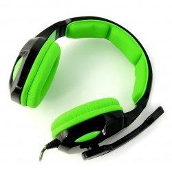 Stereofonní sluchátka s mikrofonem - Esperanza Cobra EGH350G