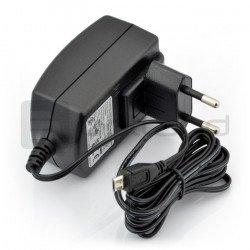Napájecí zdroj Raspberry Pi microUSB 5V 2A - originální T5582DV - černý
