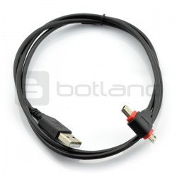 Kabel USB 2v1 microUSB / miniUSB Goobay - 1 m