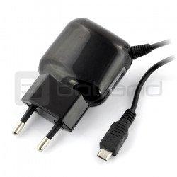 USB reverzní 2.4A microUSB napájecí zdroj + USB zásuvka