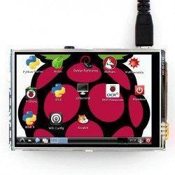 """Odporový dotykový LCD TFT 3,5 """"320x240px GPIO pro Raspberry Pi 2 / B +"""