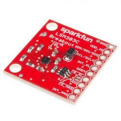 LSM303C - tříosý akcelerometr IMU 6DoF I2C / SPI a magnetometr - modul SparkFun *