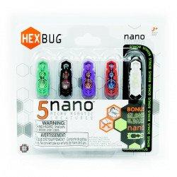Hexbug Nano - různé barvy - 5ks.