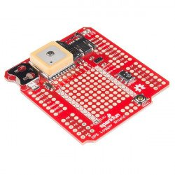 SparkFun GPS Logger Shield - GPS modul GP3906-TLP se čtečkou SD karet pro Arduino