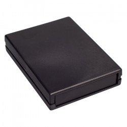 Plastové pouzdro Kradex Z19 - 128x94x25mm černé