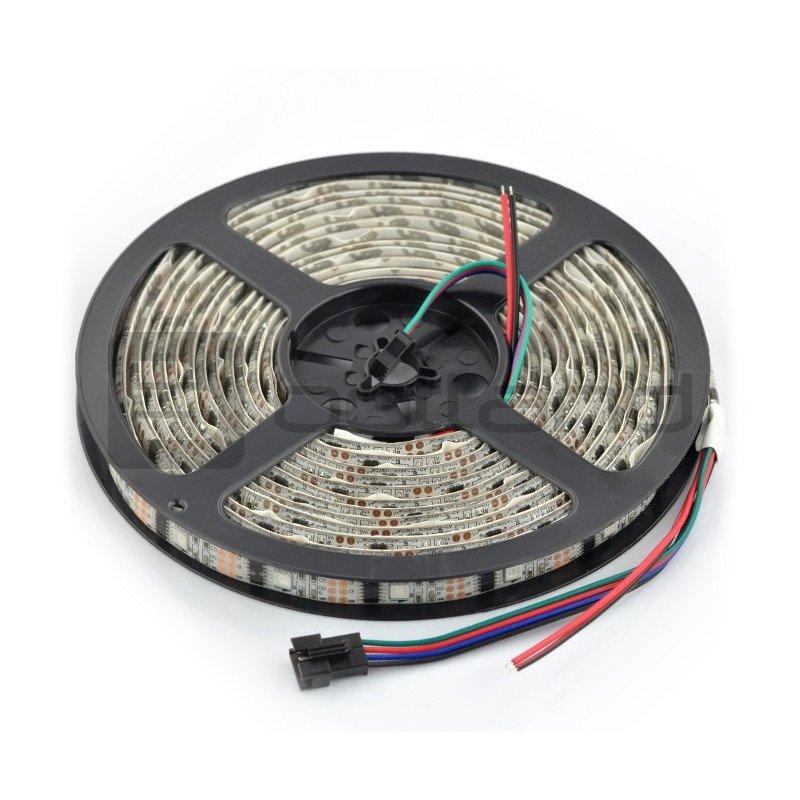 RGB LED pásek WS2801 IP65 32 LED / m, 10,8W / m, 12V - 5m