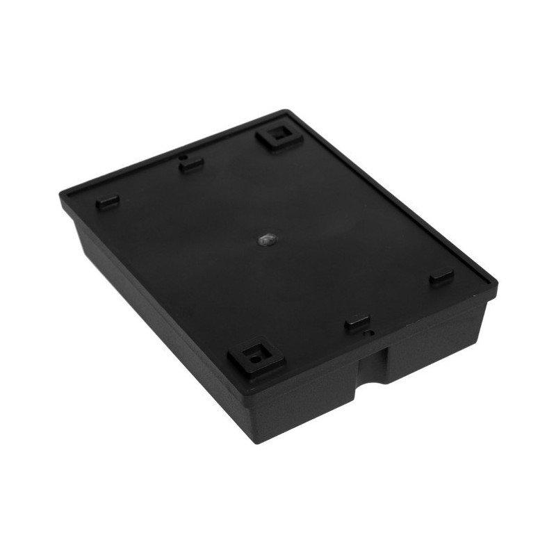 Plastové pouzdro Kradex Z29 - 126x93x28mm černé