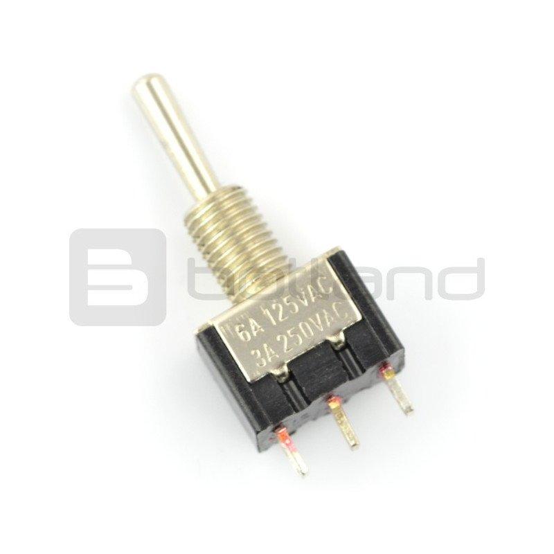 Jednoduchý přepínač On-Off- (On) MTS113 250V / 3A