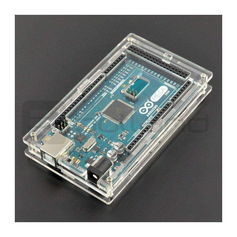 Pouzdro pro Arduino Mega - průhledné tenké