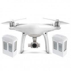 DJI Phantom 4 Quadrocopter Drone s 3D Gimbal a 4K UHD kamerou + dvě baterie navíc