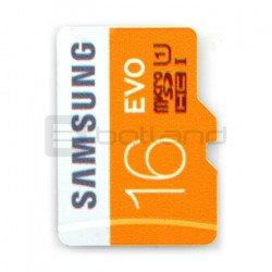 Paměťová karta Samsung EVO micro SD / SDHC 16 GB 320x UHS-I třída 10