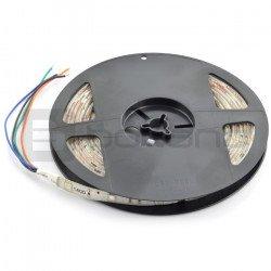LED pásek SMD3528 IP20 4,8W, 60 LED / m, 8mm, teplá barva - 5m