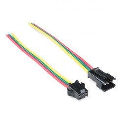 Konektor pro LED pásky a pásky JST-SM (3kolíkový)