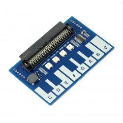 Mini Piano pro Micro: bit - modul s dotykovými tlačítky