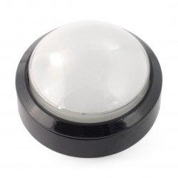 Tlačítko 6cm - bílé