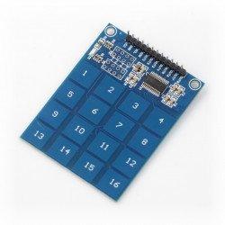 Modul dotykové klávesnice - 16 tlačítek - TTP229 - I2C