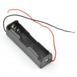 Koš na 1 18650 baterii