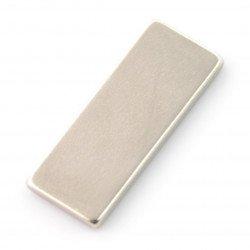 Obdélníkový neodymový magnet - 25x10x2mm