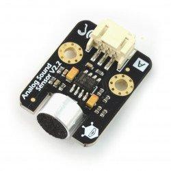 Zvukový senzor - analogový - modul DFRobot