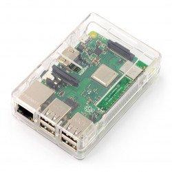 Pouzdro Raspberry Pi Model 2 / B + - průhledné