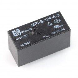 Relé MPI-S-124-A-3 - cívka 24V, kontakty 16A / 250VAC