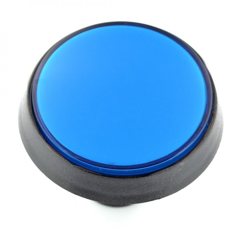 Tlačítko 6cm - modré (verze eco2)
