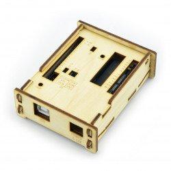 Dřevěné pouzdro pro Arduino Uno
