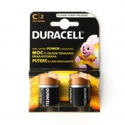 1,5V baterie Duracell LR14 - 2 ks.