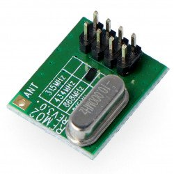 Rádiový modul - RFM02 / 868D 868MHz - vysílač THT