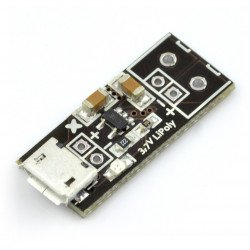 Mikro nabíječka LiPoly - nabíječka microUSB Li-Pol 1S 3,7 V
