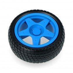 Kolo s pneumatikou 65x26mm - modré
