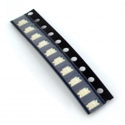 LED dioda smd 1206 zelená - 10 ks.