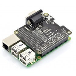 Klobouk RS232 pro Raspberry Pi