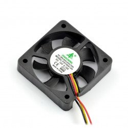 Ventilátor 12V 50x50x10 posuňte 3 vodiče