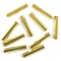 Mosazná distanční vložka - 25mm - 10ks