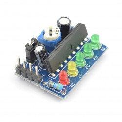 Modul KA2284 - hladina zvuku a indikátor nabití baterie