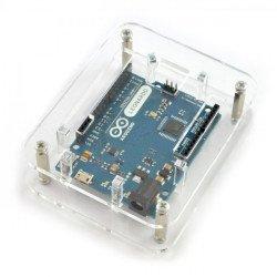 Pouzdro pro Arduino Uno a Leonardo - otevřené, průhledné