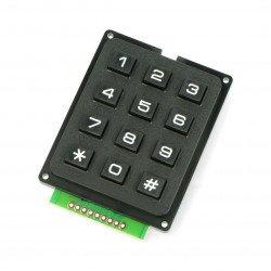 Klawiatura numeryczna - 12 klawiszy