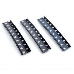Sada SMD 0805 LED diod - 30 ks.