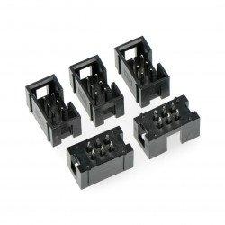 IDC zástrčka 6 pin přímá - 5 ks