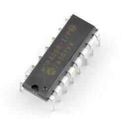 A / C převodník MCP3008 10bitový 8kanálový SPI - DIP