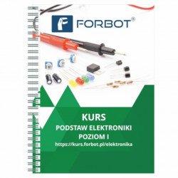 FORBOT - základní kurz elektroniky, úroveň I - kniha