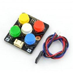 ADKeyboard v2 - modul klávesnice s barevnými tlačítky