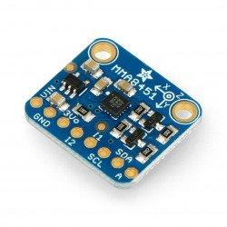 MMA8451 3osý digitální akcelerometr I2C - modul Adafruit