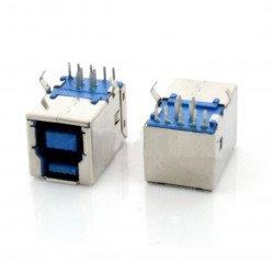 Zástrčka USB 3.0 typu A - pro tisk THT