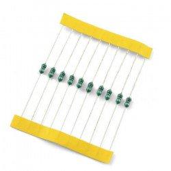 Odrušovací axiální tlumivka 100uH / 90mA - 10ks.